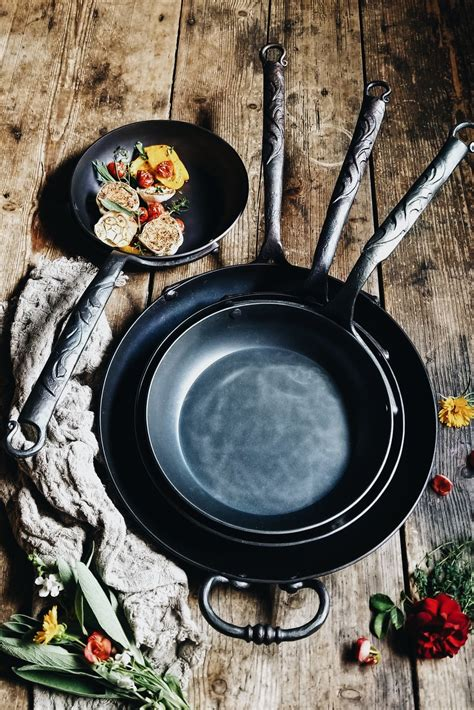 exquisitely hand forged cookware  world kitchen