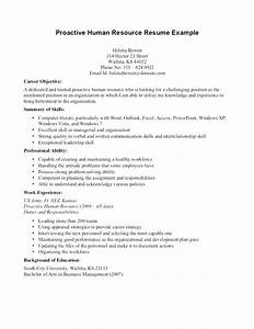 fine human resources resume objective examples composition With entry level human resources resume