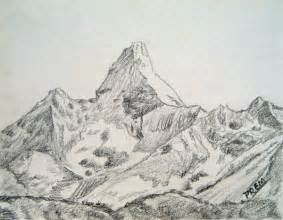 Simple Mountain Drawings Photo by By Prem May 2012