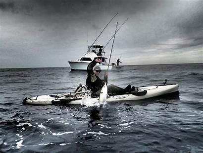 Fishing Kayak Offshore Wallpapers
