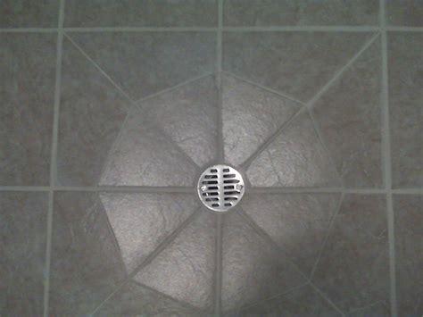 tile around a floor drain ceramic tile