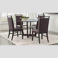 Ciara Espresso 5 Pc Dining Set  Dining Room Sets Dark Wood