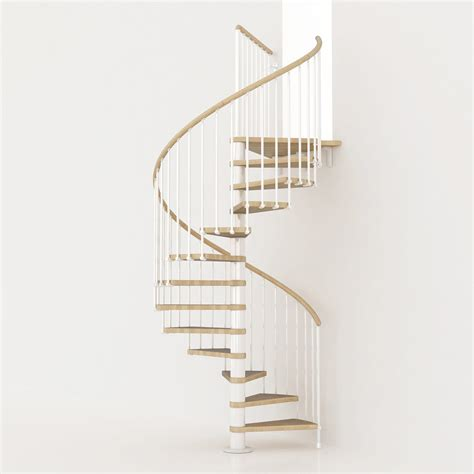 escalier colima 231 on rond ring structure m 233 tal marche bois