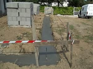 Dosage Beton Terrasse : terrasse beton fondation ~ Premium-room.com Idées de Décoration