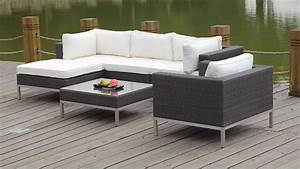Rattan Gartenmöbel Lounge : polyrattan lounge big nizza weiss living zone gartenmoebel living zone ~ Frokenaadalensverden.com Haus und Dekorationen