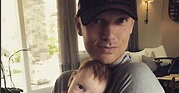 Nick Carter Introduces Baby Son to Football: Pic - Us Weekly