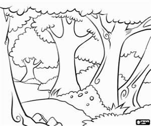 Juegos de Árboles para colorear, imprimir y pintar