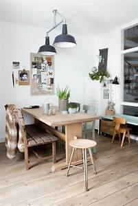Esstisch Stühle Beige : verschiedene holzarten f r m bel kombinieren 15 schicke ideen ~ Frokenaadalensverden.com Haus und Dekorationen