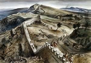 Roman Fort Wall Reconstruction