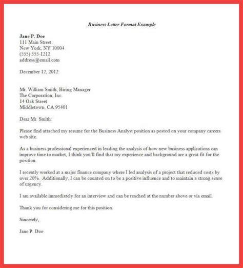 official letter format formal letter format sample memo example 23834 | formal letter format sample business letter format7