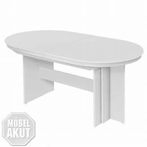 Tisch Eiche Weiß : esstisch rom tisch ausziehbar 160 310x90 farbwahl wei eiche kernnuss ebay ~ Indierocktalk.com Haus und Dekorationen