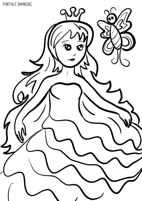 immagini da colorare principesse principesse da colorare scopri la collezione portale