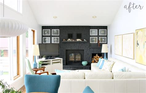 Lakehouse Living Room Redesign
