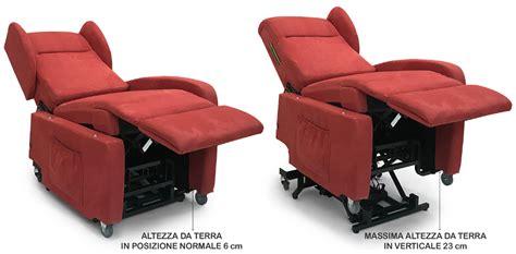 Poltrona Per Disabili Elettrica Reclinabile Con Alzata In
