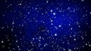 Snow Falling Background BLUE 1080 HD Video Stock Footage ...