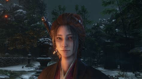 sekiro shadows die  costumes mod replaces default