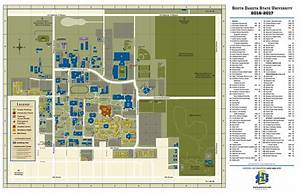 South Dakota State University Map Pictures to Pin on ...