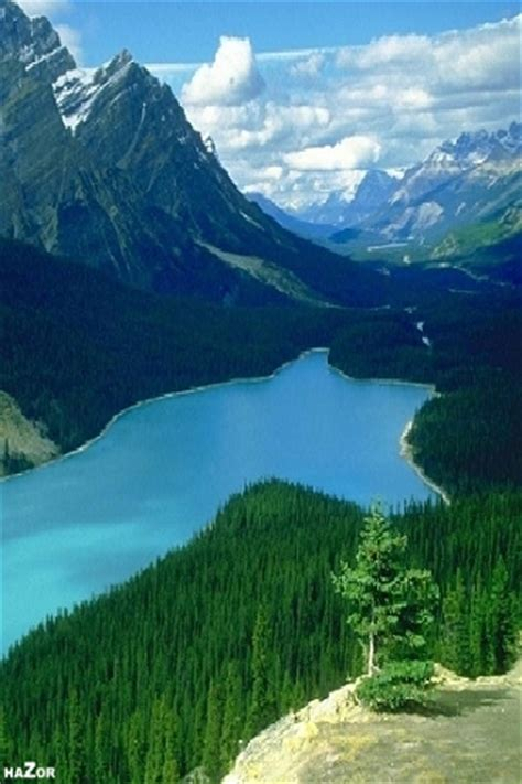 Mountains And Rivers Of Nature Iphone Wallpapers 320x480