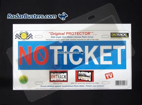 Speed Camera License Plate Cover by The Protector License Plate Cover Radarbusters