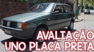 Avalia U00e7 U00e3o Fiat Uno Cs 1 3 1988 Placa Preta