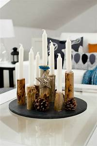 Weihnachtsdeko Aus Holz : 40 adventskranz ideen und die geschichte des adventskranzes ~ Whattoseeinmadrid.com Haus und Dekorationen