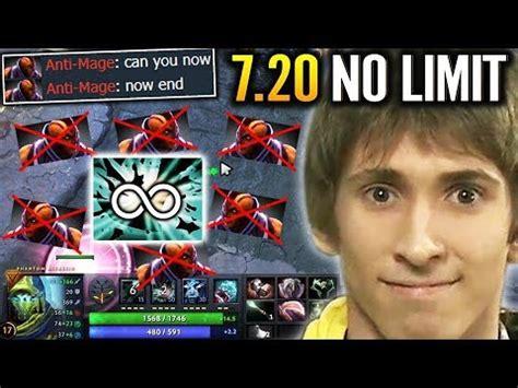 dendi not human reaction 200 iq blink counter am dota 2 7 20 update pa gameplay youtube