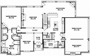One Story 5 Bedroom House Plans Stylish 27 Two Story 4