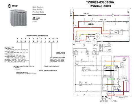 Trane Ac Wiring Diagram by Trane Heat Wiring Diagram Twn042c100a4 Last Edited