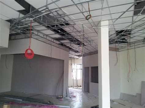 Installing A Ceiling by Why You Should Install A Plaster Ceiling Recommend My Living
