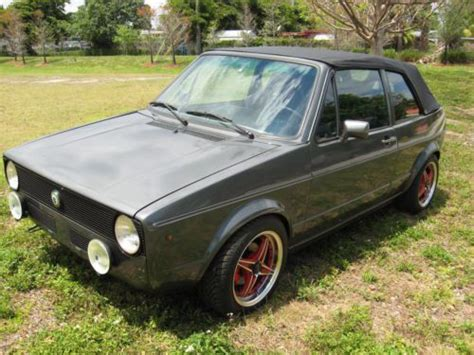 Buy Used 1982 Volkswagen Rabbit Convertible Base