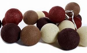 Guirlande Boule Lumineuse : guirlande lumineuse de boules de coton nong kiaw guirlandes lumineuses boules de coton ~ Teatrodelosmanantiales.com Idées de Décoration