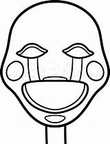 Fnaf Coloring Pages Puppet Getcolorings Thither Yosef sketch template