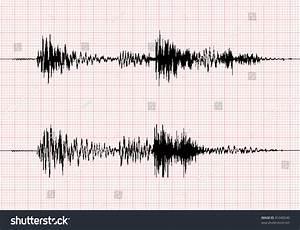 Seismogram For Seismic Measurement