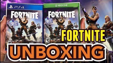 fortnite psxbox  unboxing youtube