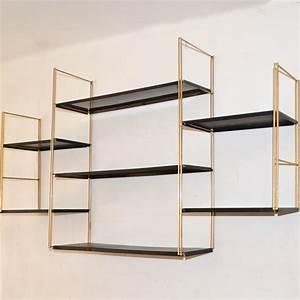Support étagère Murale : etageres murales ~ Premium-room.com Idées de Décoration