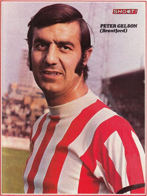 Circa 1969/70; Brentford centre half Peter Gelson, at ...
