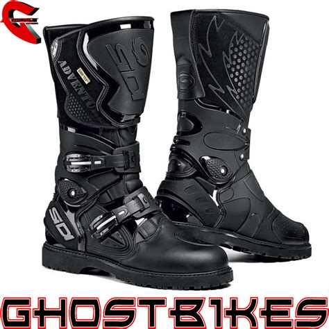 road motorbike boots sidi adventure gore tex waterproof enduro motorcycle road