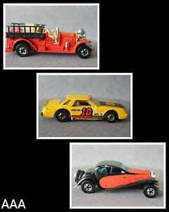 7 used bugatti cars for sale from germany. {AAA} 1980 Hot Wheels/ '37 Bugatti+Old Number 5 Fire Engine Truck+Mirada Stocker   eBay