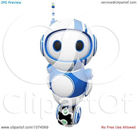 free royalty free clipart clipart 3d blueberry bot royalty free cgi