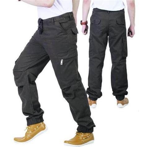 celana cargo yang maskulin untuk para pria di berbagai kesempatan liza fathia