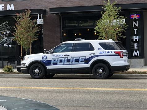 tacoma police  vehicle livery trident flickr