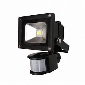 Projecteur Led Detecteur De Mouvement : projecteur led 10w d tecteur de mouvement froid achat ~ Dailycaller-alerts.com Idées de Décoration