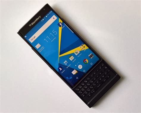 blackberry priv s marshmallow update rolls out from today