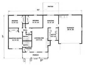 2 bedroom ranch house plans brickingham country ranch home plan 069d 0032 house