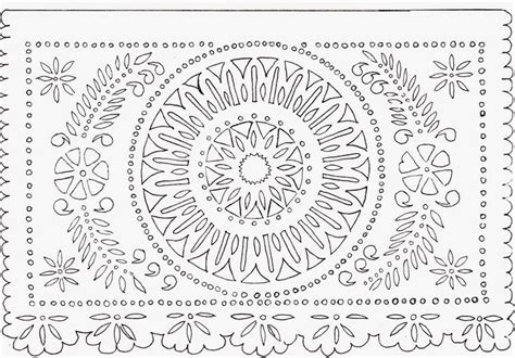 Papel Picado Template For by 9 Best Images About Papel Picado On Paper