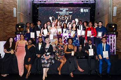 Awards Student Kent Winners University Gala Celebrated