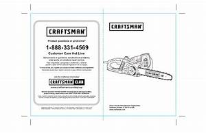Craftsman Electric Chainsaw Repair Manual