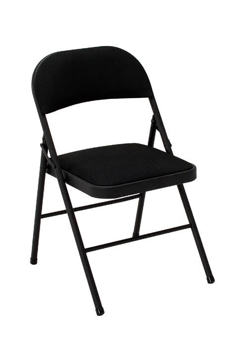Cosco Folding Chairs Kmart cosco home and office products 4 pack black fabric folding