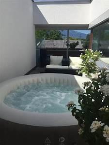 whirlpool purespa intex spa in mader sonstiges fur den With whirlpool garten mit sonnenschutz für den balkon