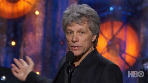 Bon Jovi Induction Into The Rock Roll Hall Fame